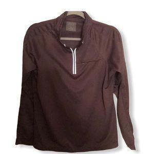 Everlast quarter zip pullover purple XL